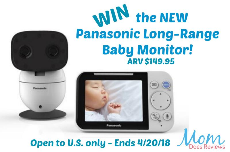 Win the new Panasonic Long-Range Baby Monitor #PanasonicBaby