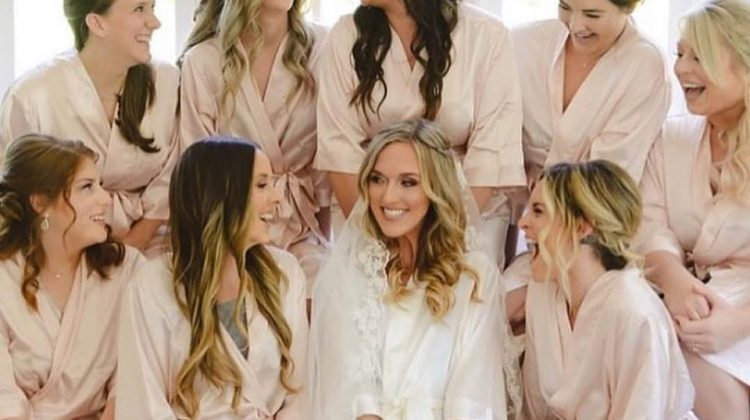 Get Matching Wedding Robes for Your Bridal Party
