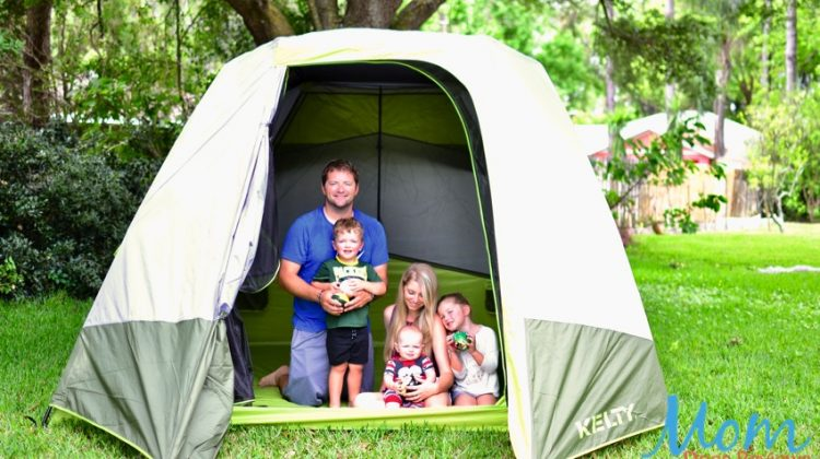 Make Camping with Kids a Breeze with the Kelty Sequoia Tent #GiftsForMom18