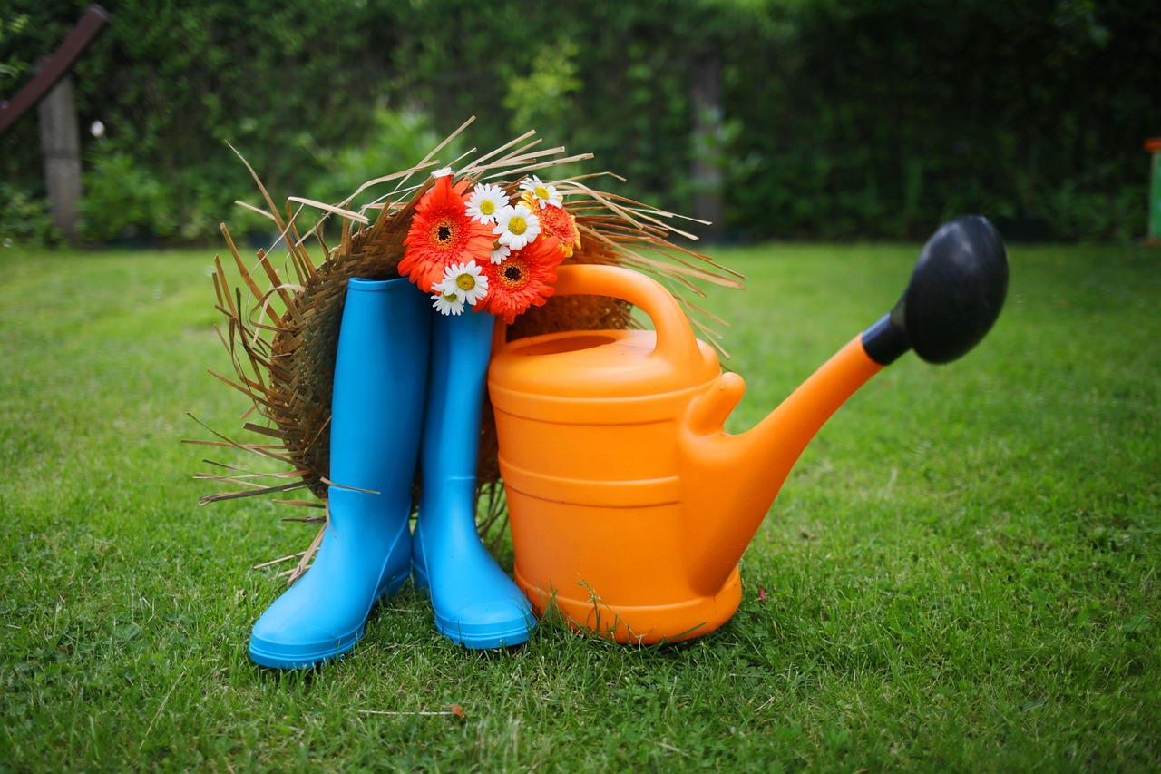 Building a Summer Garden with Kids