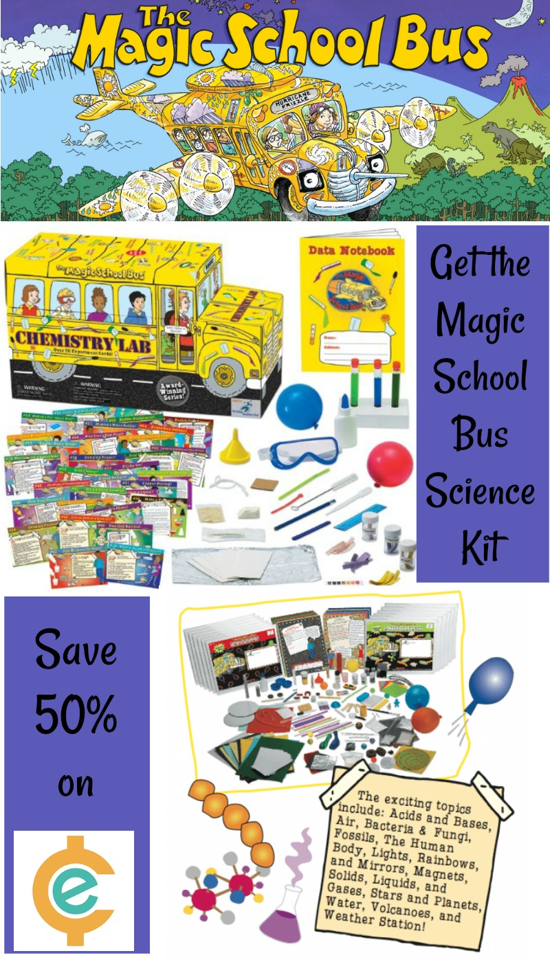 The magic School Bus Science Club- Save 50% on Educents