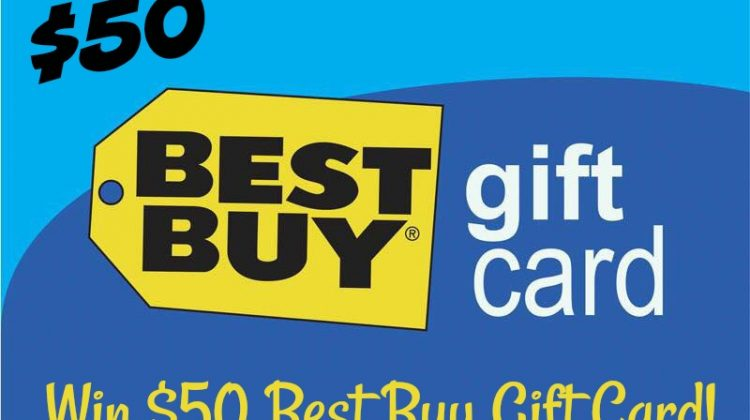 Enter to #Win a $50 Best Buy Gift Card