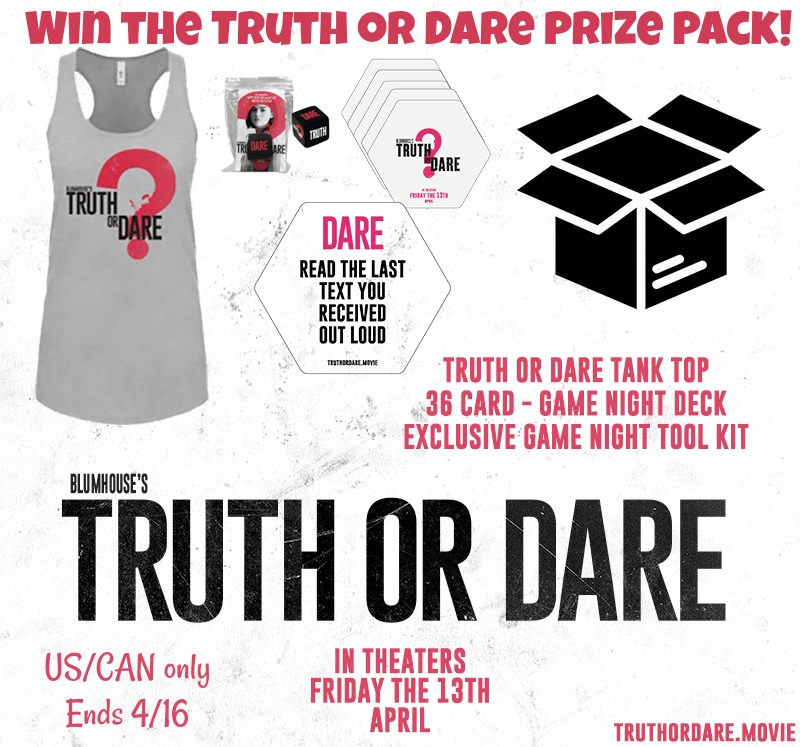 Win Truth or Dare Prize pack