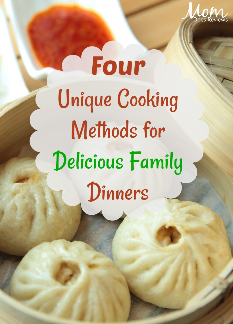 4 Unique Cooking Methods for Delicious Family Dinners