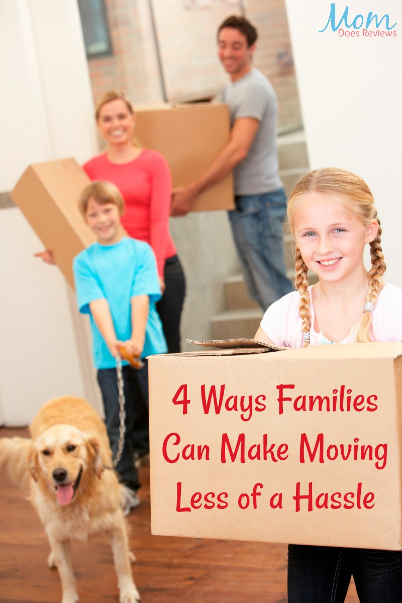 4 Ways Families Can Make Moving Less of a Hassle