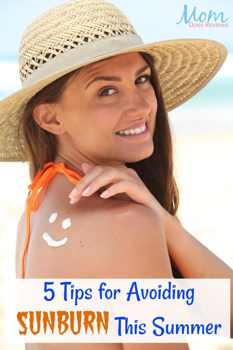 5 Tips for Avoiding Sunburn This Summer
