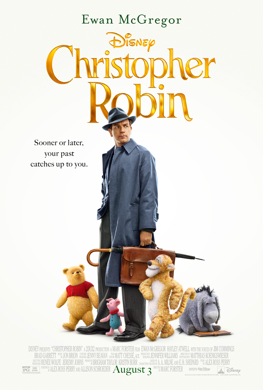 Christophter Robin New Poster