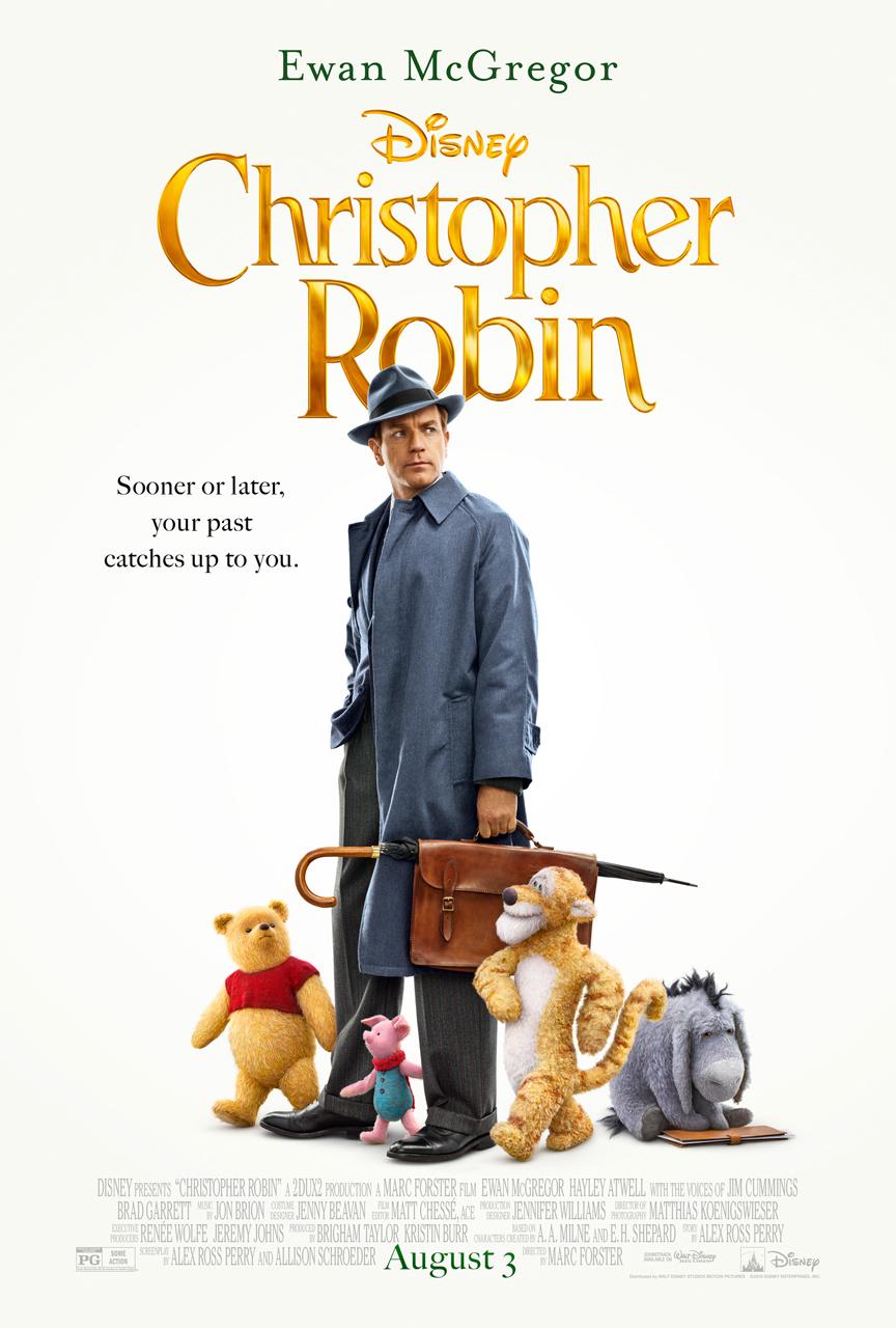 Christophter Robin New Poster