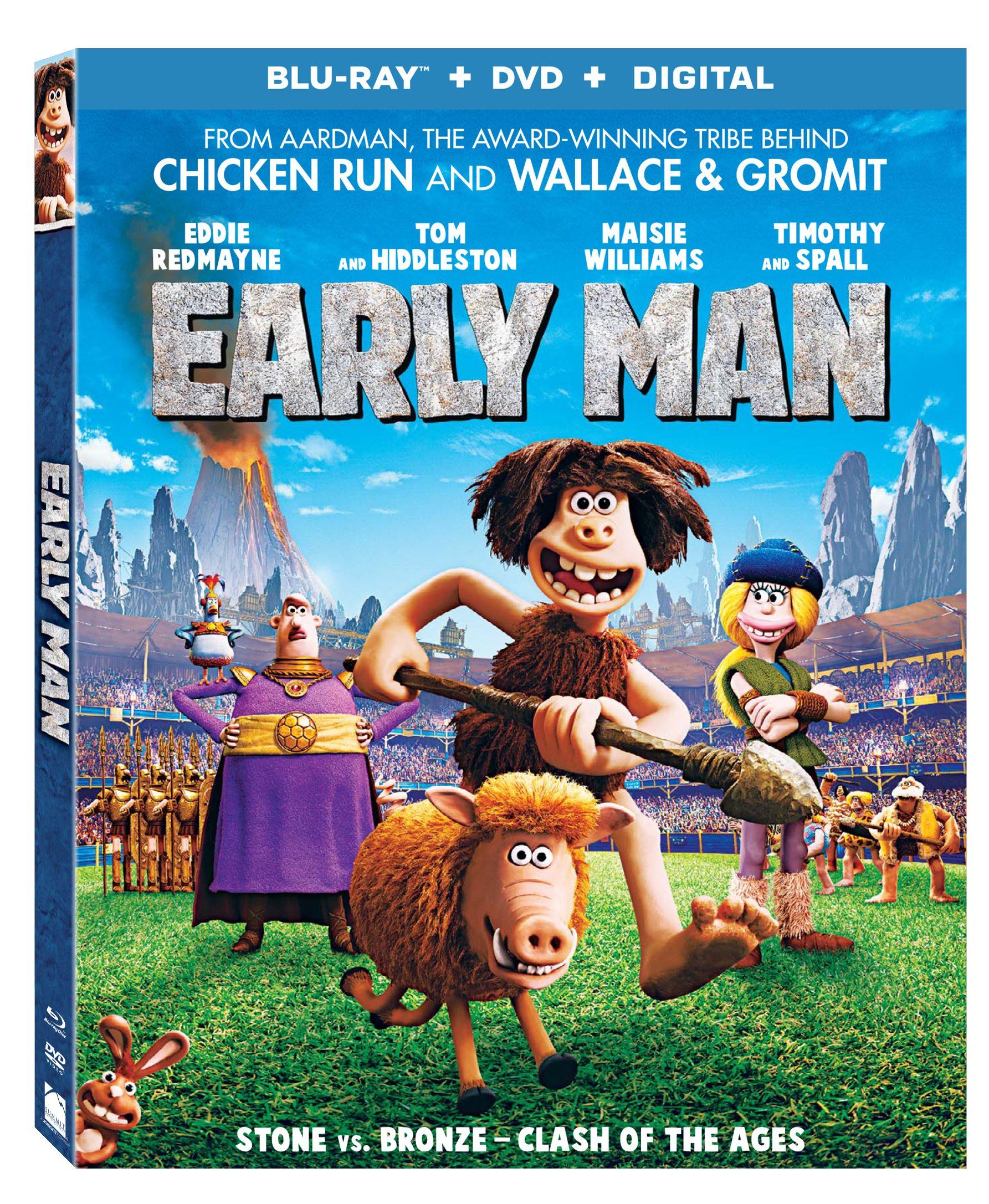 Early Man Blu Ray