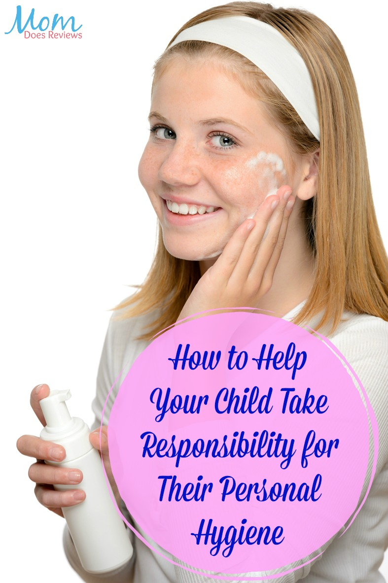 How to Help Your Child Take Responsibility for Their Personal Hygiene