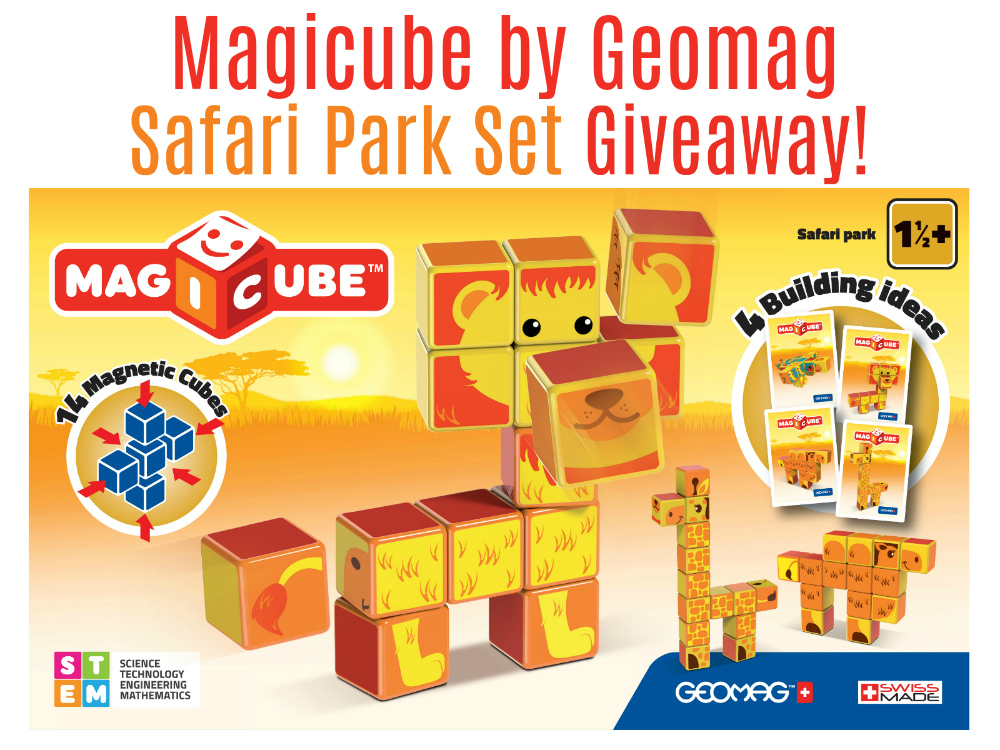 Magicube by Geomag Giveaway