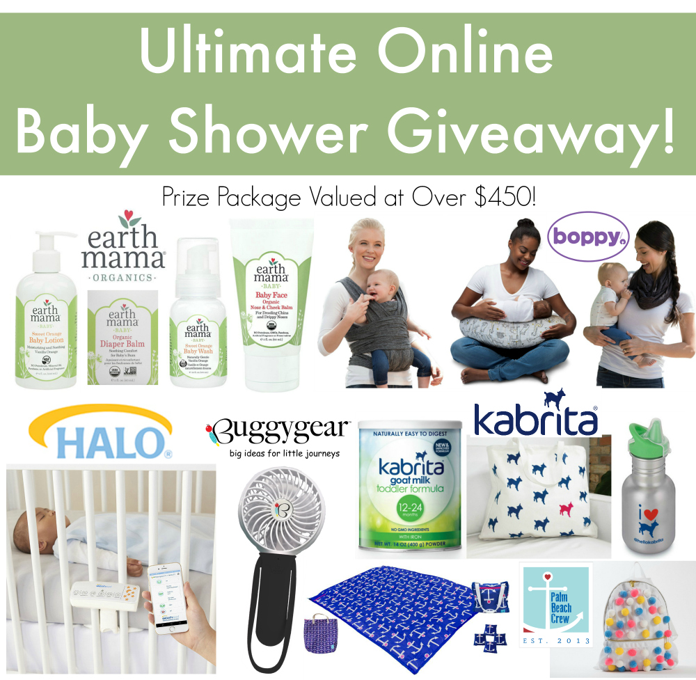 Ultimate Online Baby Shower Giveaway