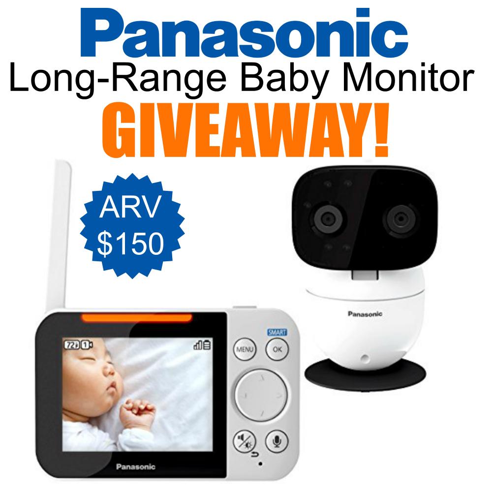 Panasonic Long-Range Baby Monitor Giveaway