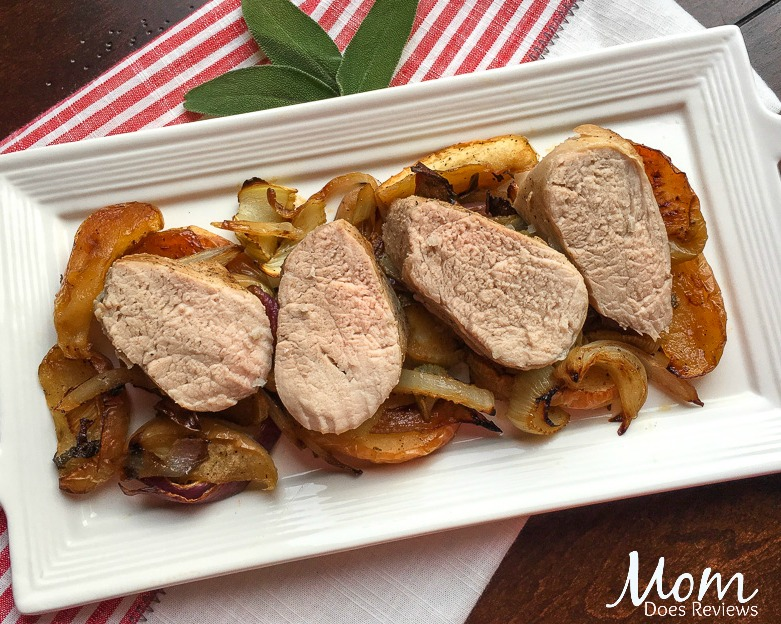Apple & Fennel Roasted Pork Tenderloin