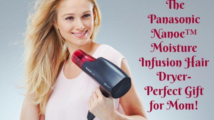 Help Mom Achieve her Perfect Style with Panasonic nanoe Hair Dryer #GiftsforMom18 #panasonicbeauty