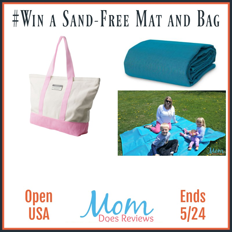 #Win a Sand-Free Mat and Bag