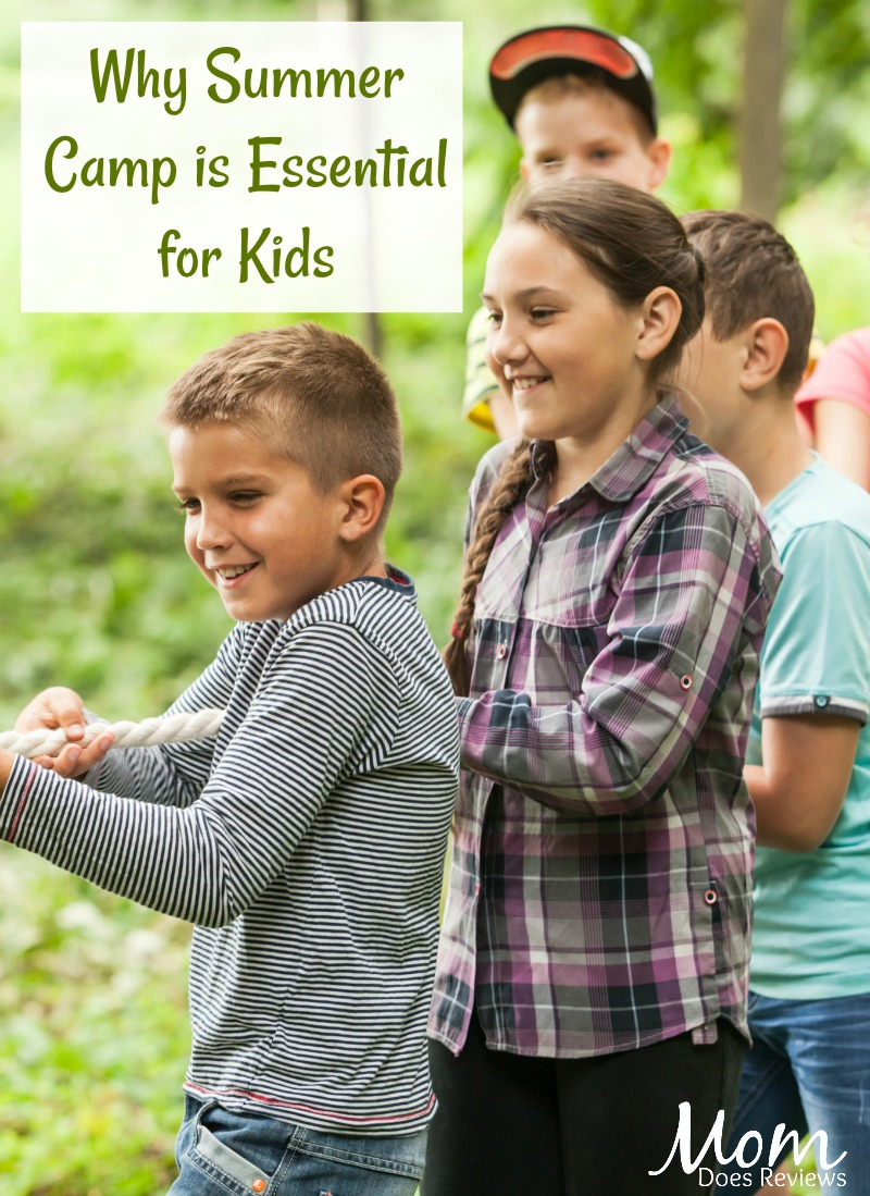 Why Summer Camp is Essential for Kids