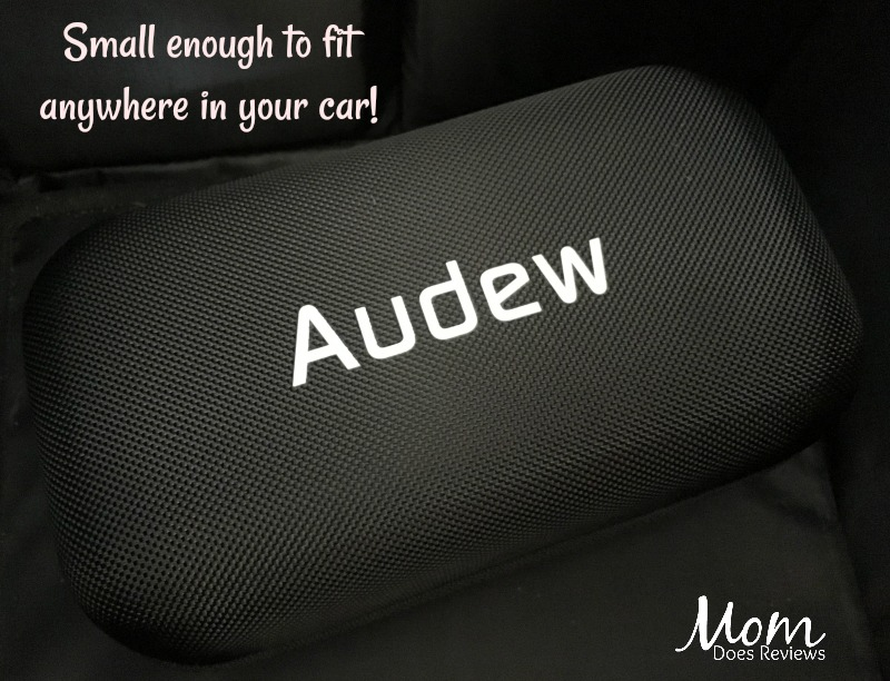 Audew jump starter - small enough to fit in glove box