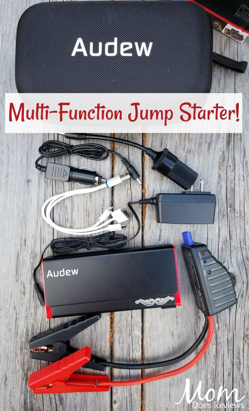 Audew Multi-Function Jump Starter #SuperDadGifts18