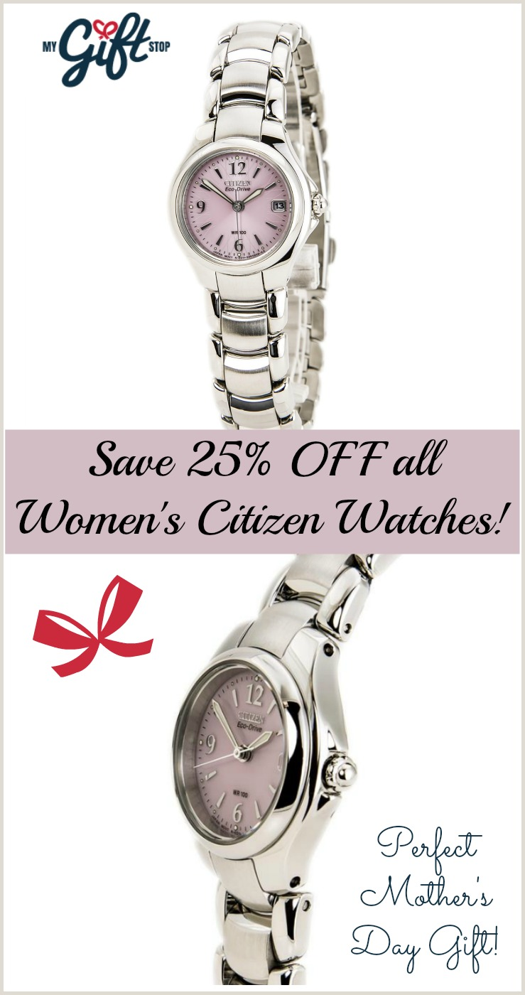 Citizen Watch for Mother's Day #Giftsformom18