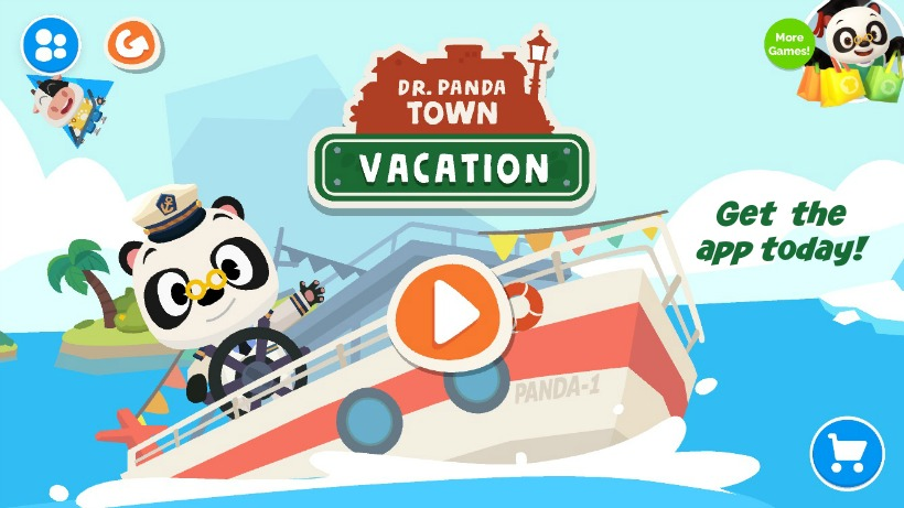 Dr Panda Town Vacation App