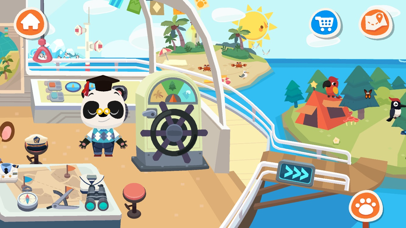 Dr Panda Town: Vacation app