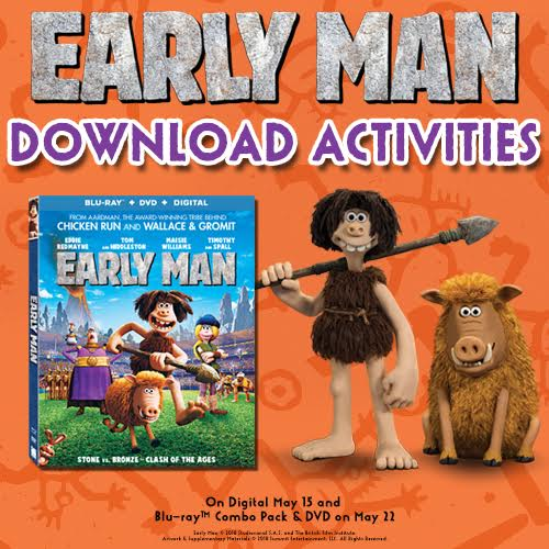 Early Man Activity Pages