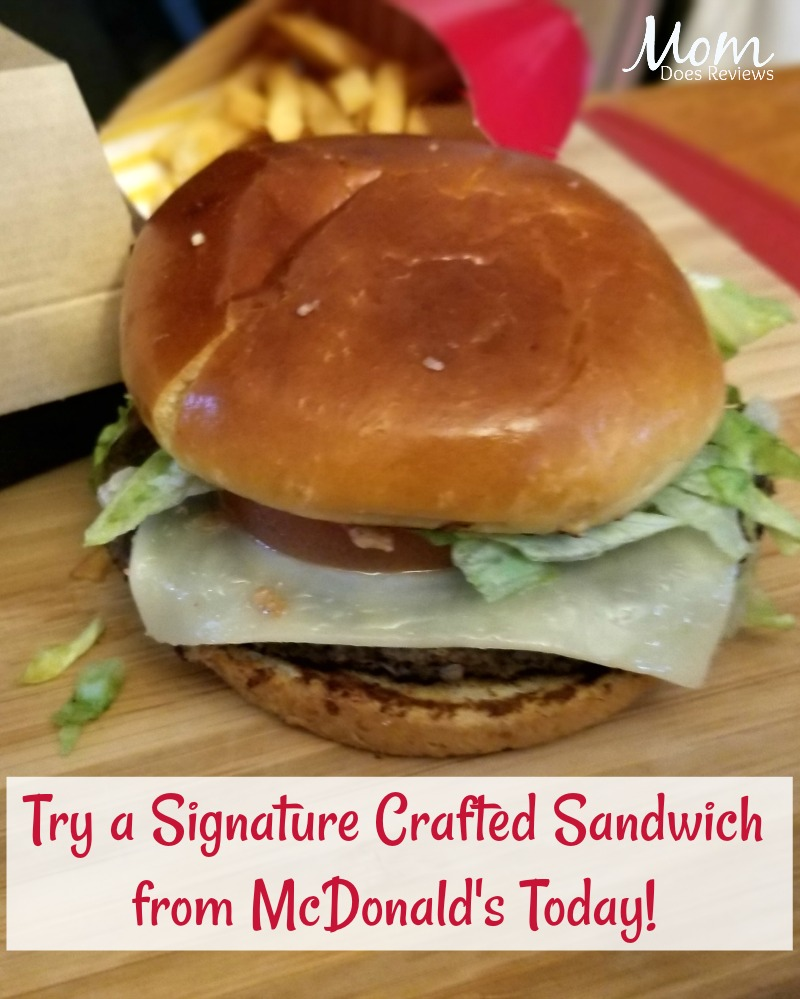 Signature Crafted® Recipes collection by McDonald's #McDMadeFresh