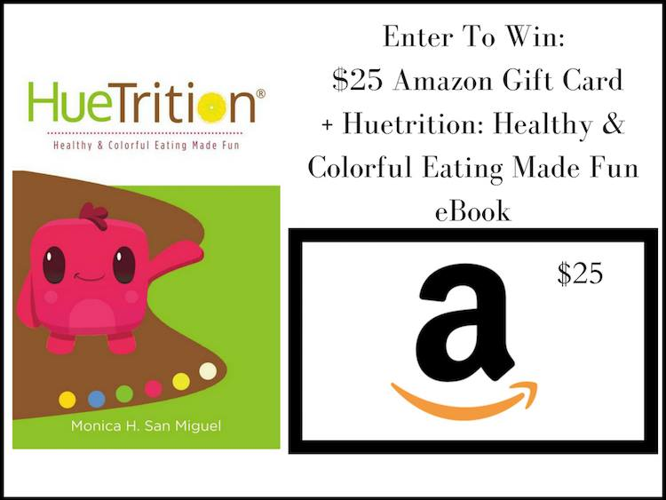 Win $25 amazon gc and HueNutrition book