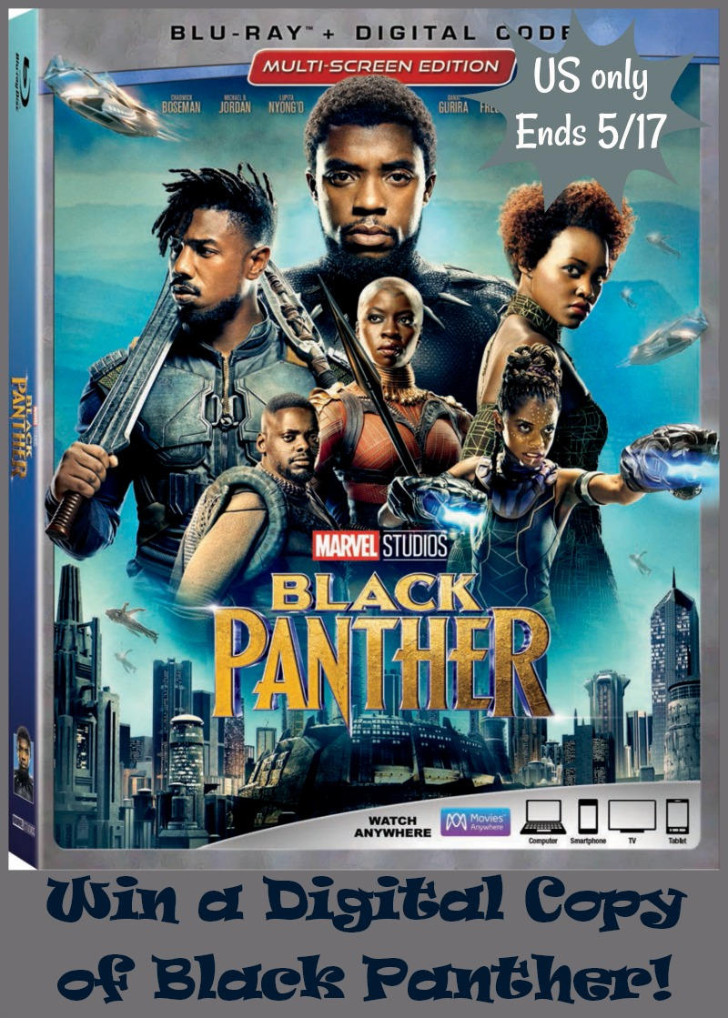Win Digital copy of Black Panther #BlackPanther