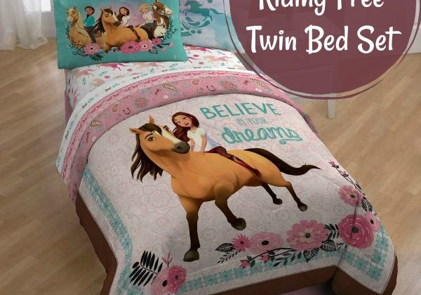 #Win a Spirit Riding Free Twin Bed Set US ends 6/5