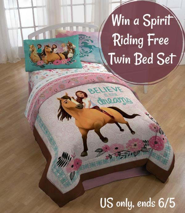 Spirit Riding Free Twin Bed Set