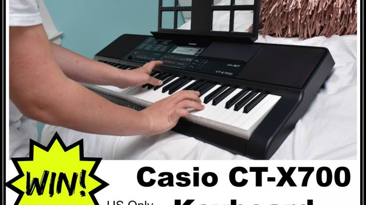 Casio CT-X700 Keyboard Giveaway Open to US ONLY 6/8