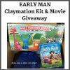 Win Early Man Claymation Prize #earlyMan