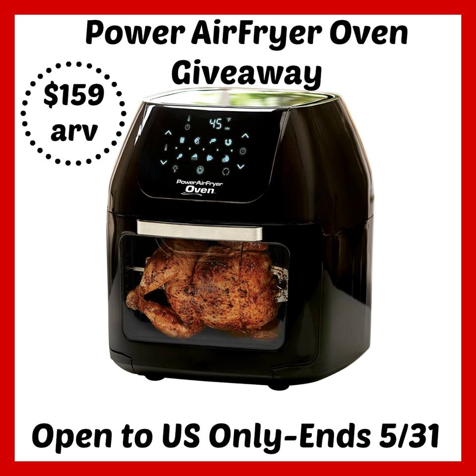 Win a Power Air Fryer