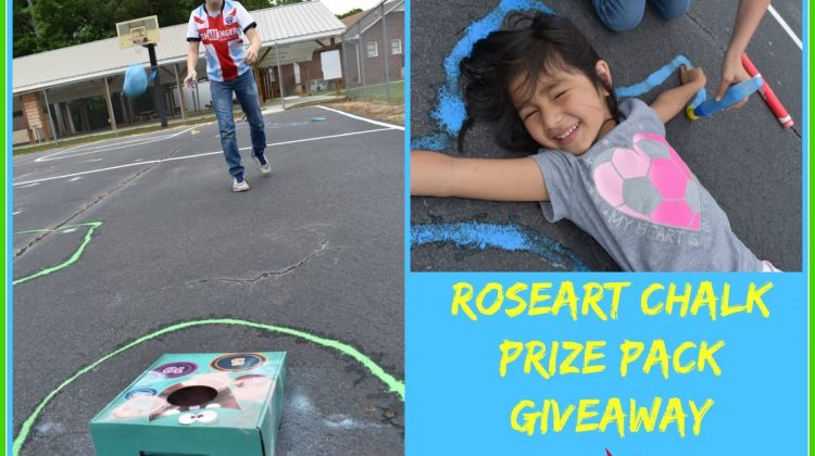 RoseArt Chalk Prize Pack Giveaway Open to US ONLY Ends 6/3