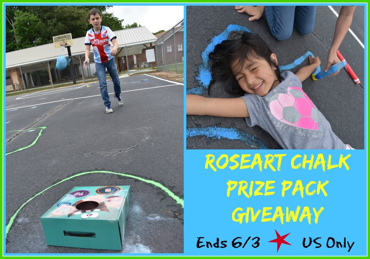 Roseart chalk giveaway