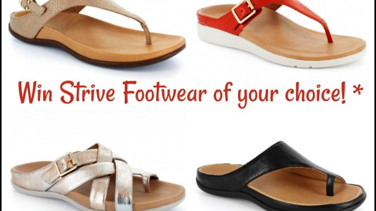 #Win Strive Footwear of your Choice! US ends 6/7