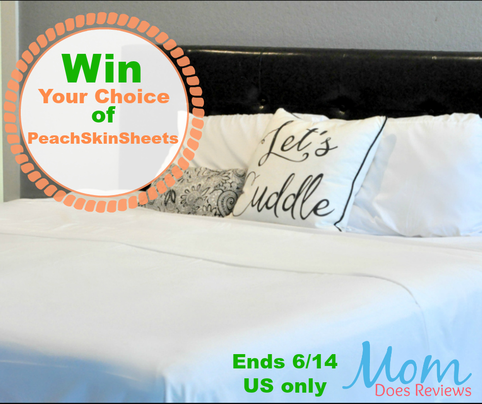 win your choice of peachskinsheets