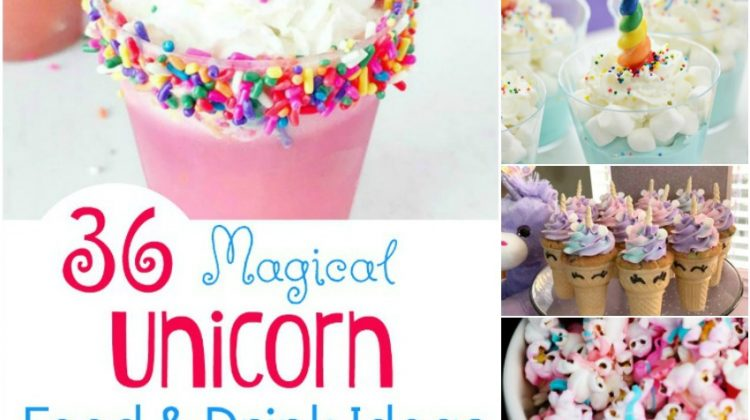 36 Magical Unicorn Food & Drink Ideas Guaranteed to Make You Smile