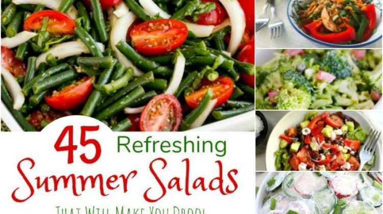 45 Refreshing Summer Salads That Will Make You Drool