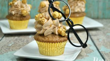Butterbeer Cupcakes For your Harry Potter Fan!