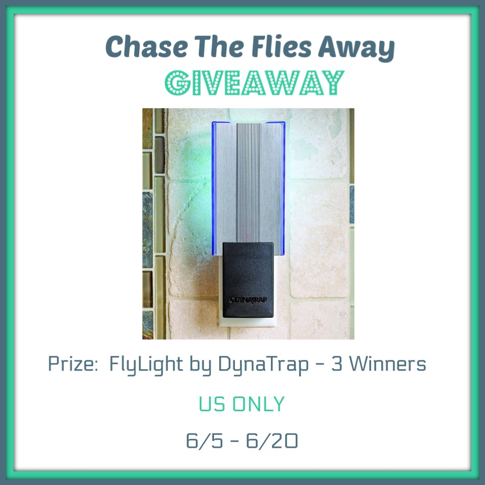 Chase the Flies Away Giveaway!  Win FlyLight DynaTraps