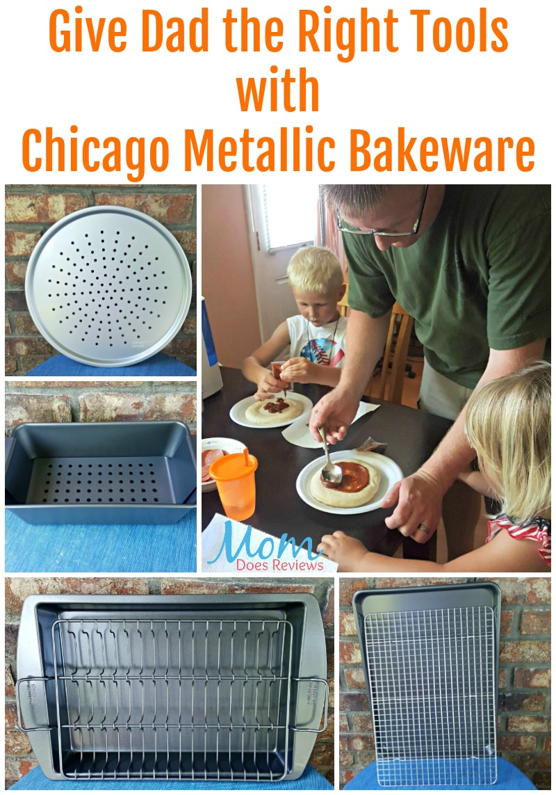 Give Dad the Right Tools with Chicago Metallic Bakeware
