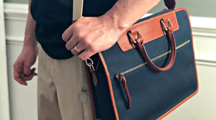 Travel In Style With A Dooney & Bourke Briefcase #SuperDadGifts18