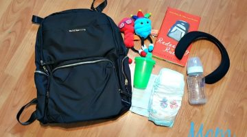 Stay Organized and Stylish with a Backpack Baby Bag #ethanandemma