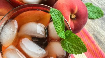 Ginger-Peach Iced Tea Made in the Instant Pot!