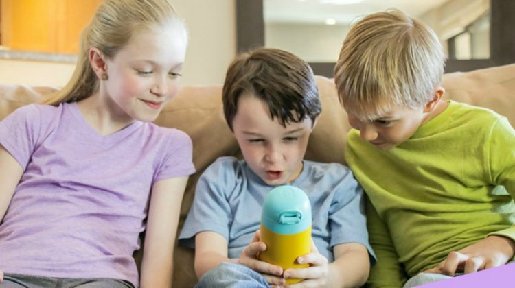 Gululu Go Interactive Water Bottle makes Hydration FUN for Kids #kidshydration #GululuGo