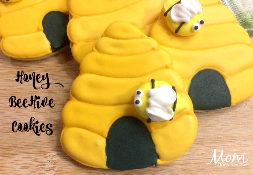 Honey BeeHive Cookies