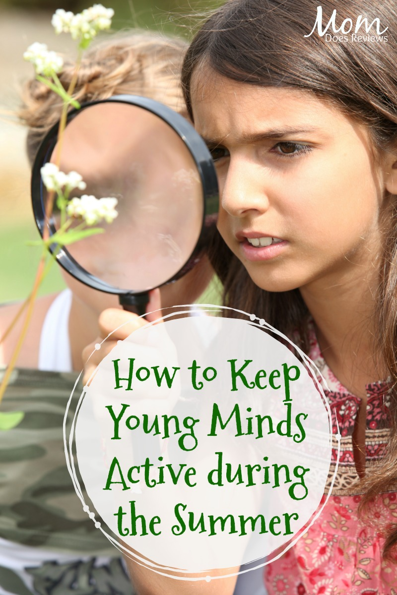 How to Keep Young Minds Active during the Summer Months